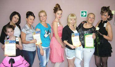Конкурс «Прическа из длинных волос— 2011»