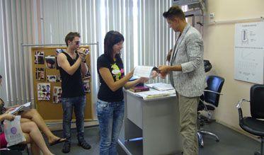 Выпуск специалистов-парикмахеров— 2010