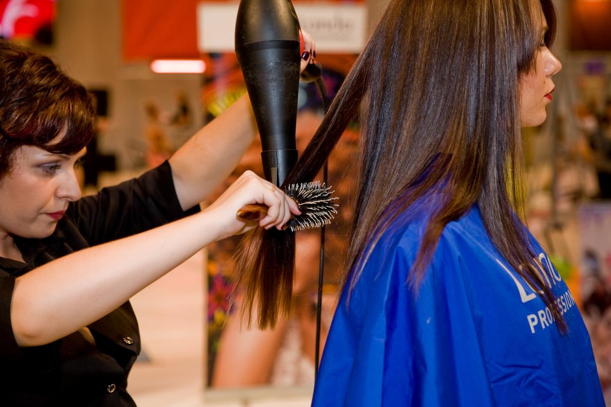 Укладка волосы